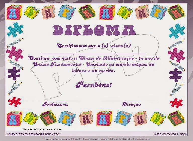 Dibujos y Plantillas para imprimir Diplomas para imprimir pt