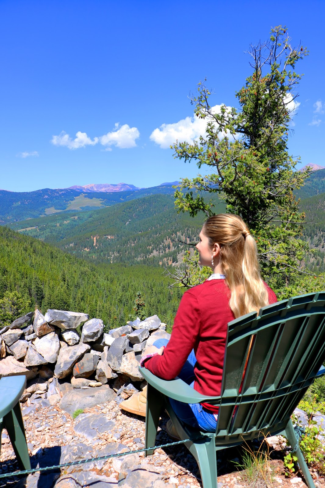 Beautiful mountain view by Pitkin, Colorado