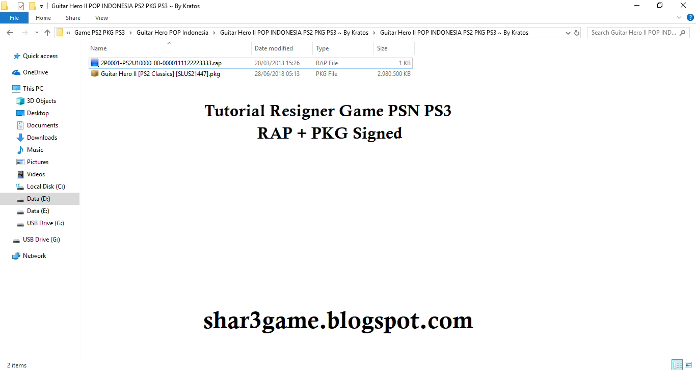 SHAR3GAME - Free Download Game + DLC PKG PS3: Tutorial Resigner Game