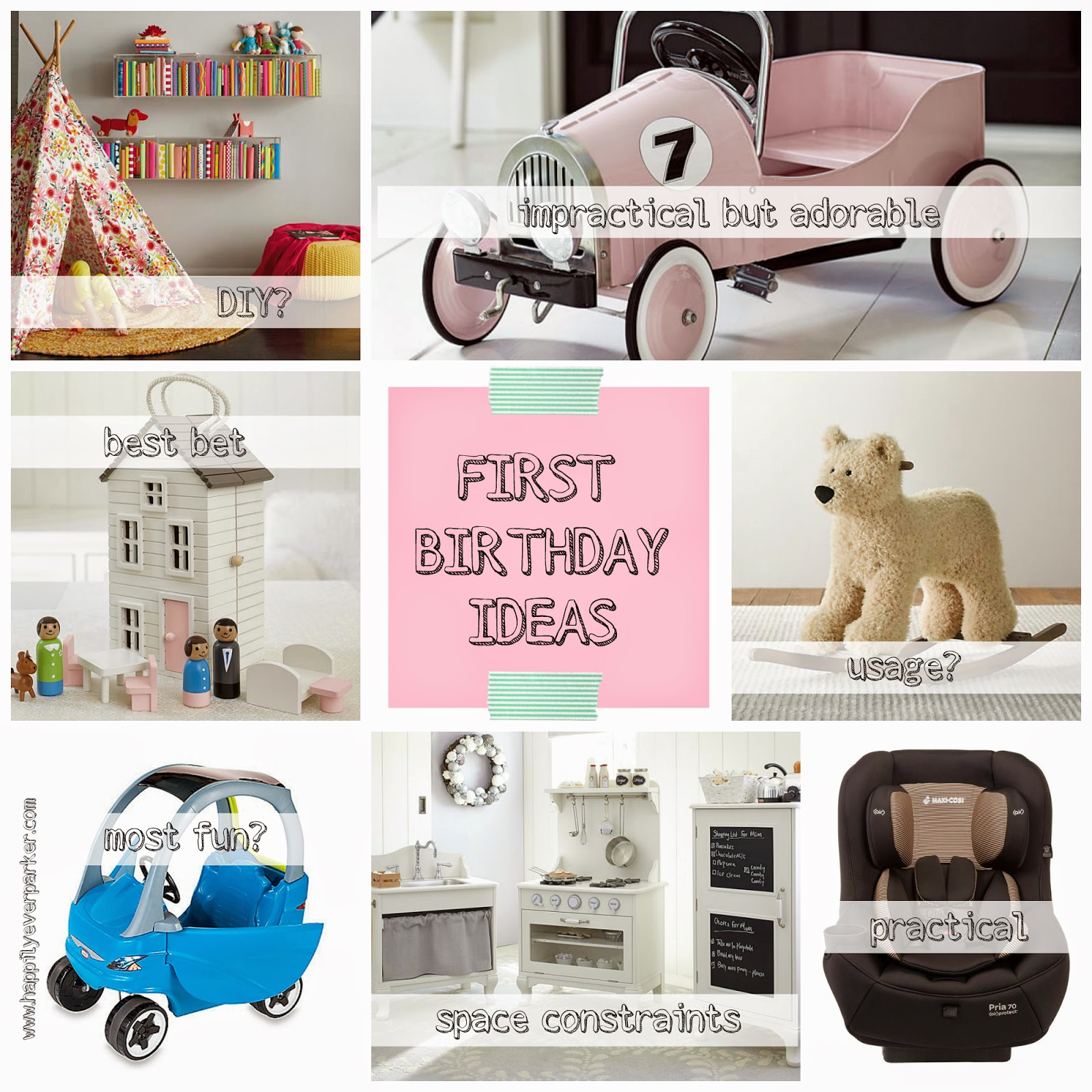 First Birthday Gift Ideas