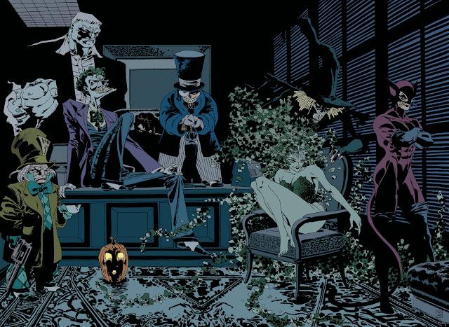 long halloween joker
