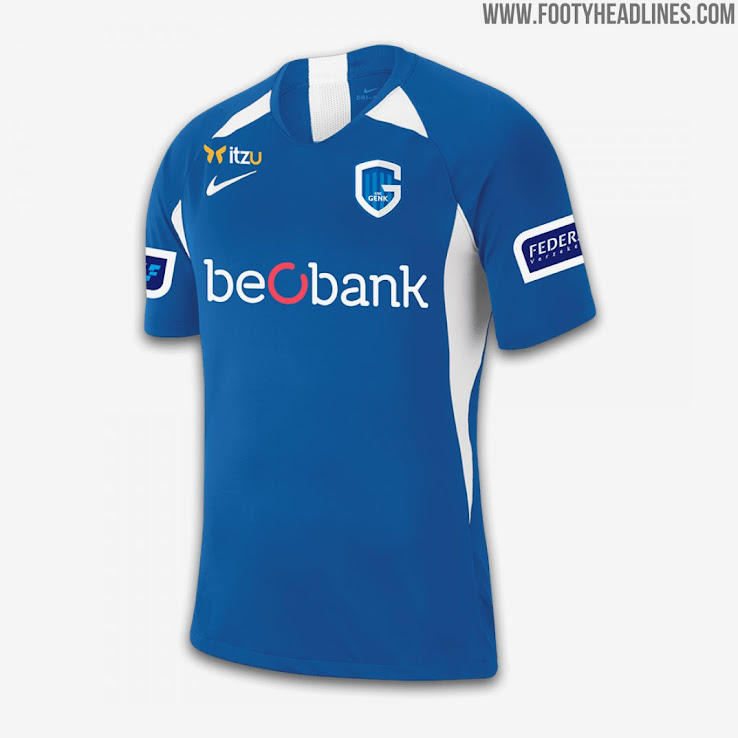 Krc Genk 19 20 Home Away Third Kits Released Footy Headlines