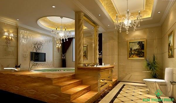 hoa văn đá hoa cương phòng tắm