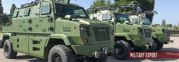 Autokraz exported a batch of KrAZ-Shrek-M