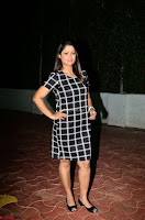 Shilpa Chakravarthy in Dark blue short tight dress At Srivalli Movie Pre Release Event ~  Exclusive Celebrities Galleries 059.JPG