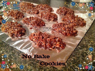 Chocolate & Peanut Butter No Bakes