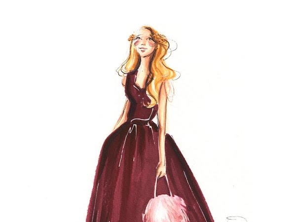 Dorinus Illustrations // Custom Fashion Portraits