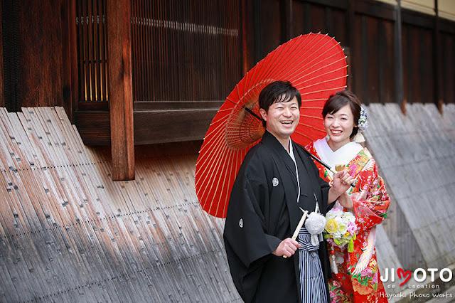 京都前撮りロケーション撮影