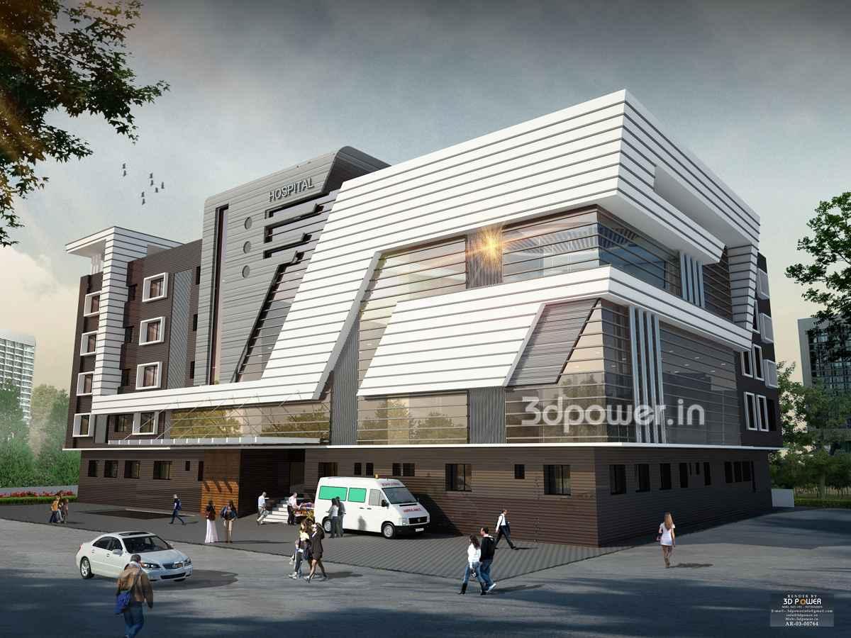 3d Floor Plans Modern Hospital Architecture Hospital Healthcare