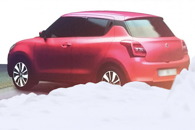 2017 Maruti Suzuki Swift left side rear image