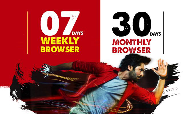 Jazz  Weekly and Monthly Browser Packages Get 2GB Internet only 160