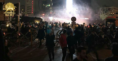 Protests in Tehran, Iran. (Photo: NCRI)