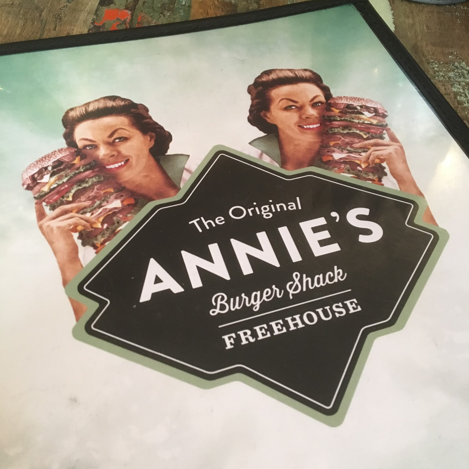 Annie's Burger Shack Nottingham menu