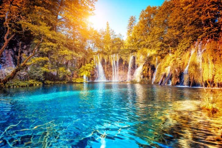 Plitvice Lakes; Croatia