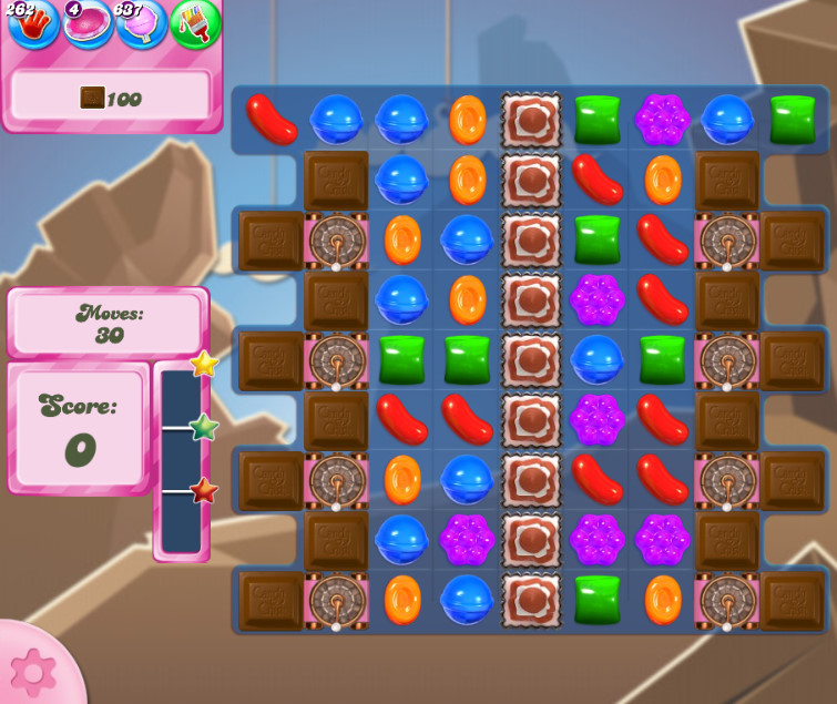 Candy Crush Saga level 2622