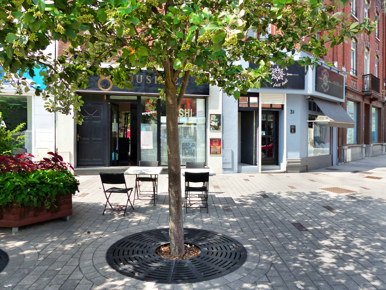 Restaurants Tourcoing - Oushiza, Place Roussel