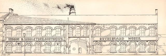 Hudson and Middleton site of the Last Bottle Oven Firing Drawing by John Hemmer 1978