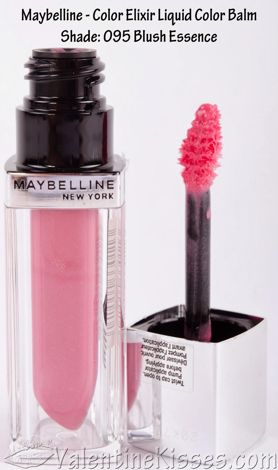 Maybelline Color Show Nail Art Masterclass: Valentine Kisses: Maybelline Color Elixir Liquid Color