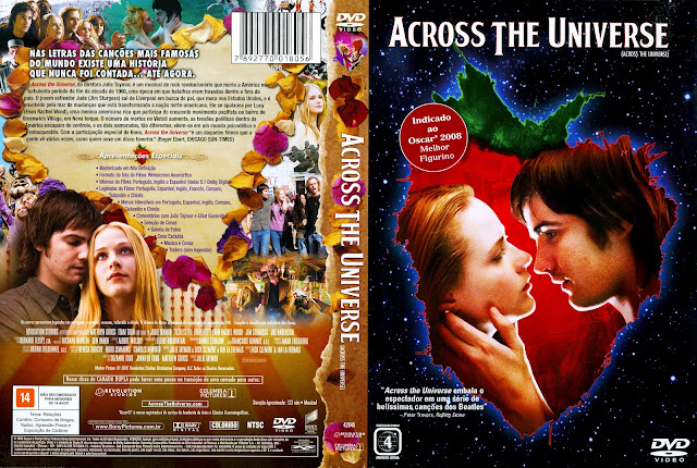 Capa DVD Across the Universe