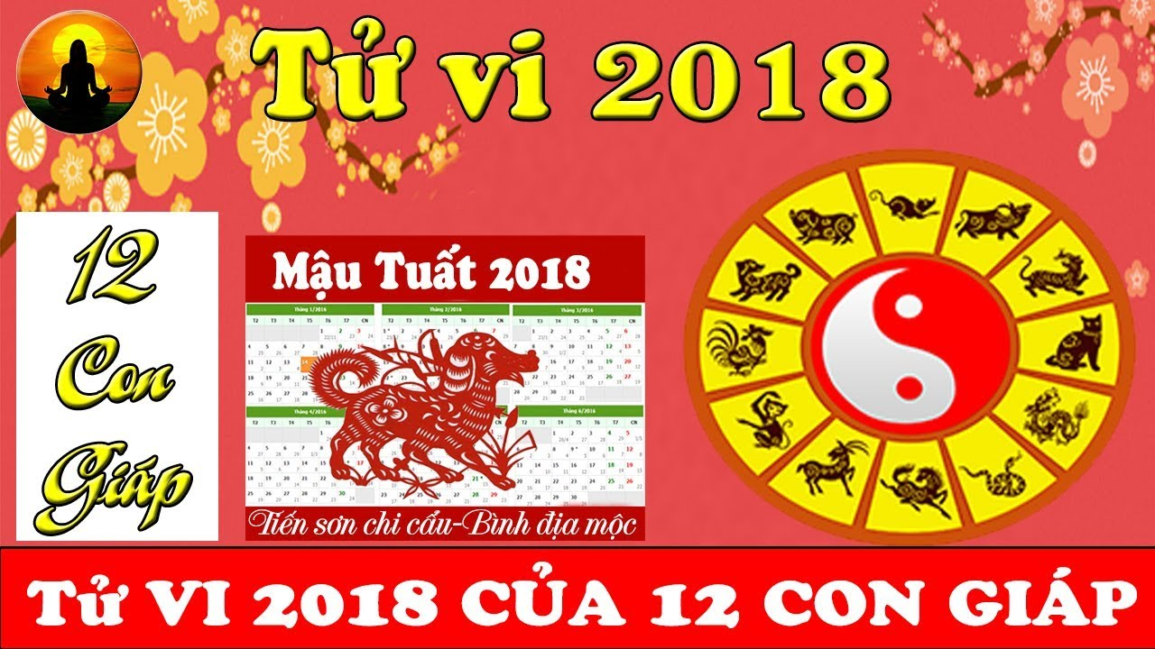 Image result for Tử vi 12 con giáp năm Mậu Tuất 2018 images