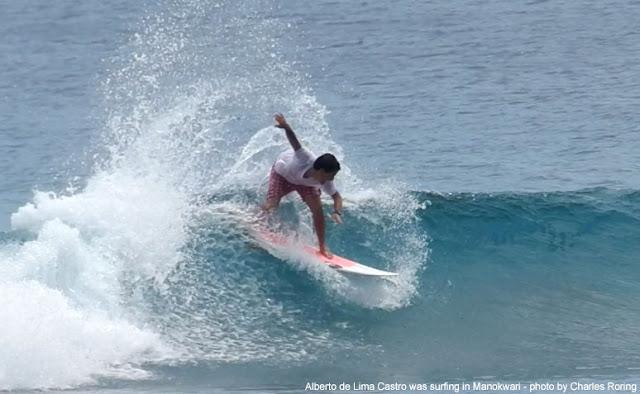 Brazil wave surfer Alberto Castro