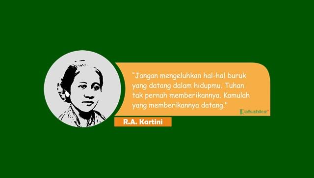 Kata kata untuk hari Kartini terbaru 2018