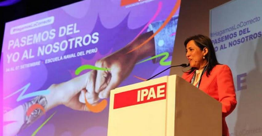 MINEDU: Aumento de sueldo para maestros nombrados y contratados será en Marzo y Noviembre de 2020, informó la Ministra de Educación, Flor Pablo Medina - www.minedu.gob.pe