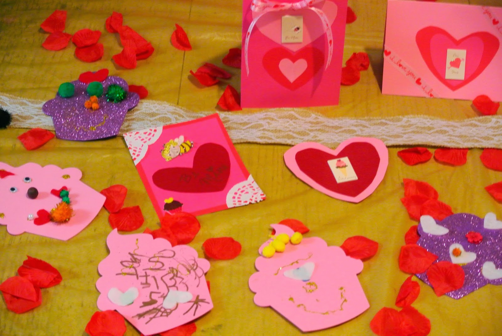 B is 4 Homemade Valentines Day Cards – Valentine Day Cards Handmade