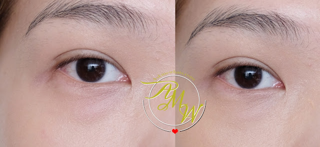 before and after photo of The Body Shop Matte Clay Full Coverage Concealer Review by Nikki Tiu