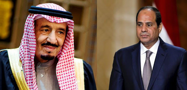 خلاف سعودي مصري , سلمان و السيسي