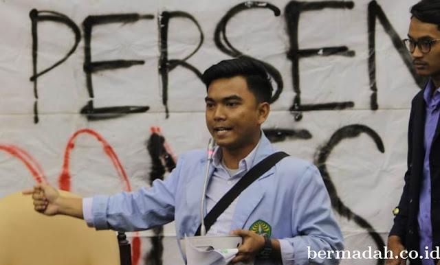 Buntut Persekusi Neno, BEM Unri Batalkan Kuliah Umum Kabinda Riau