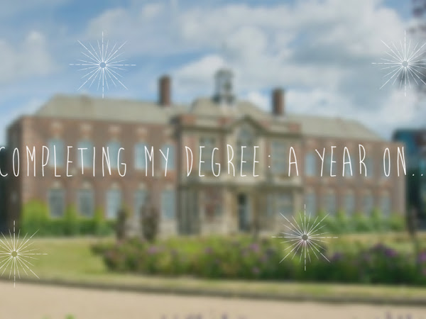 COMPLETING MY DEGREE: A YEAR ON