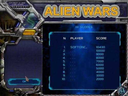 تحميل لعبة alien wars للحاسوب