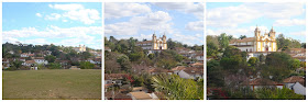 Matriz de Santo Antônio em Tiradentes, vista da Igreja São Francisco de Paula