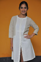 Radhika Cute Young New Actress in White Long Transparent Kurta ~  Exclusive Celebrities Galleries 074.JPG
