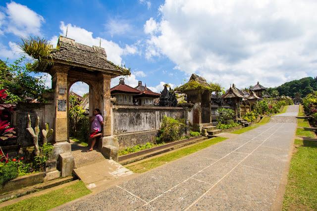Villaggio tradizionale balinese di Penglipuran-Bali