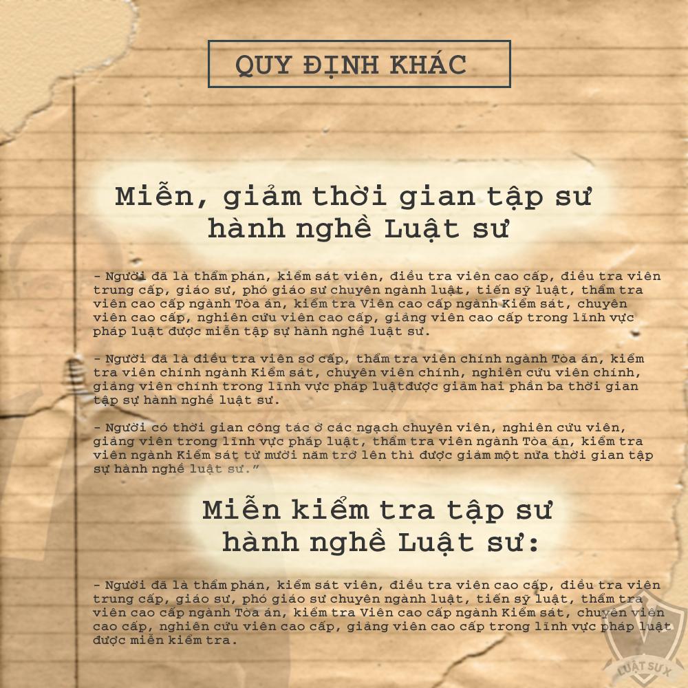 Các bước  để trở thành luật sư ở Việt Nam 35