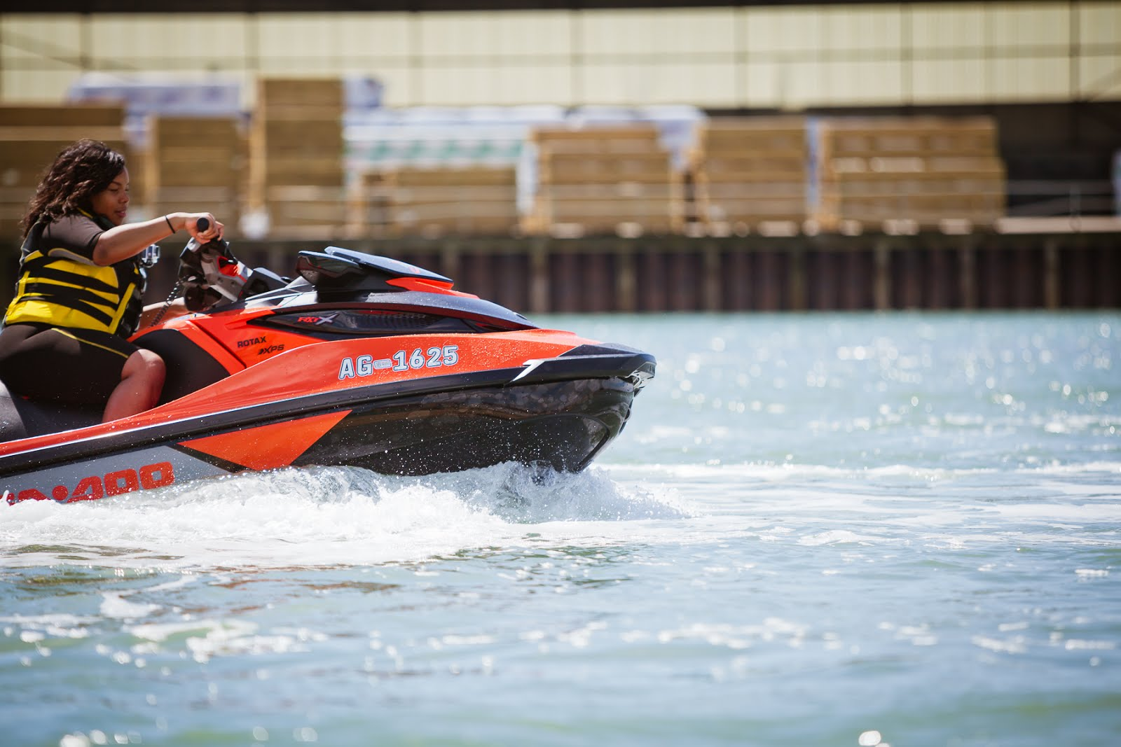 Watersport's just got it's sexy back! I #TestDrive the .@BRPSeaDoo @BRP_UK