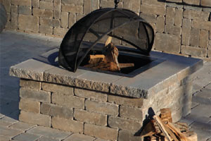 Olde English Fire Pit Cambridge Pavers