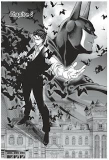 Batman, le Chevalier Noir en version manga de Shiori Teshirogi