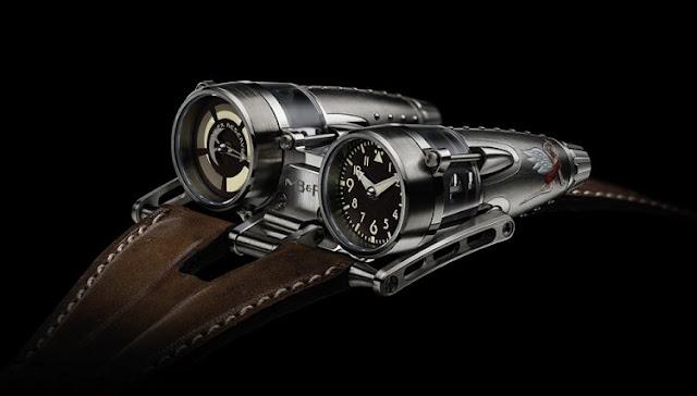 MB&F - Jenama pembuatan mesin jam tangan pelik dan sangat mahal