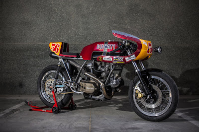 "Ducati 860 GT ""Flying Podenco"" by XTR Pepo"