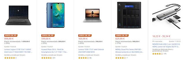 Ofertas 06-08 Amazon 10 mejores ofertas del día, flash y destacadas