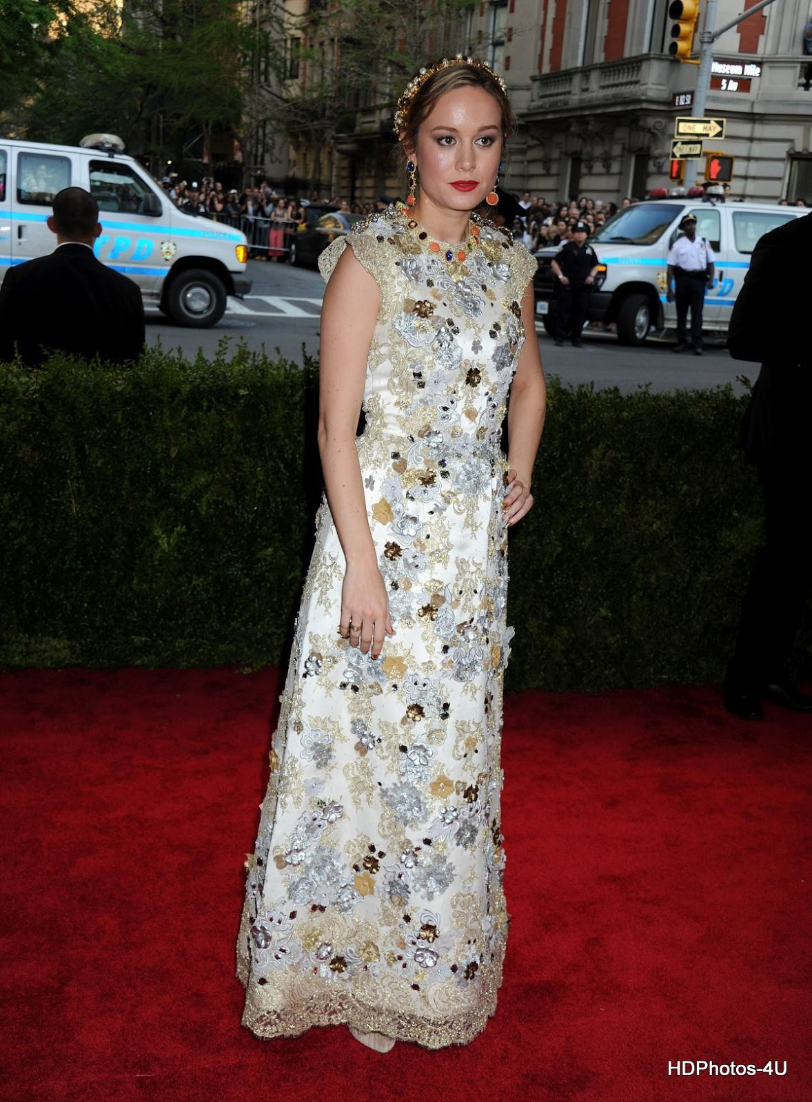 HQ Wallpapers of Brie Larson at MET Gala 2015 in New York