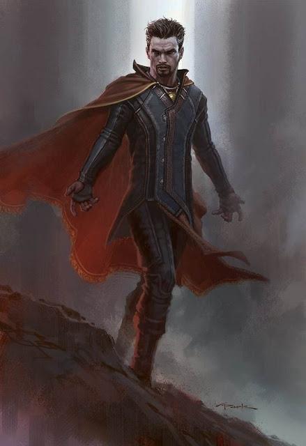 Diseño de Doctor Strange realizado por Andy Park