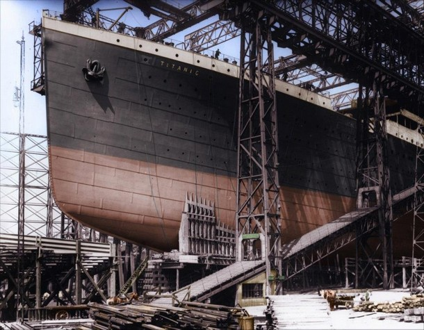 Construction of the ships bow