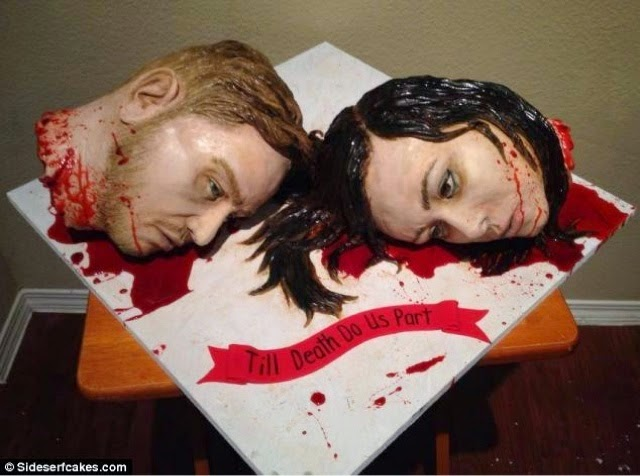 creative wedding cake