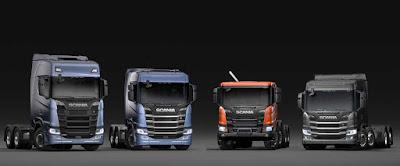 Scania apresenta nova geração de caminhões na América Latina