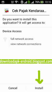 APK Android Cek Pajak Kendaraan
