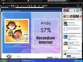 tempramen, kuis, facebook